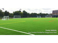 Casual football games everyday in Hoxton! £6 per game