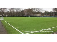 8-a-side, decent level - regular players wanted - 11£/game - no long term commitment needed