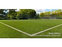 Monday 5pm | Casual Friendly Football | Caledonian/Holloway Road