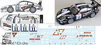 1//43 Decal  Porsche 911 GT3 Cup /'Getspeed Performance/' live onboard VLN 2014