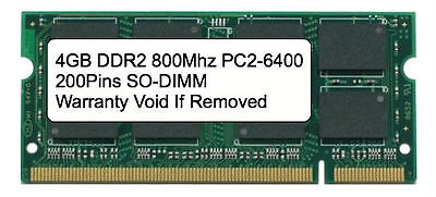 4GB DDR2 800 MHz PC2-6400 Sodimm Memory for IBM Lenovo HP Dell Laptop Apple Dell Ddr2 Memory