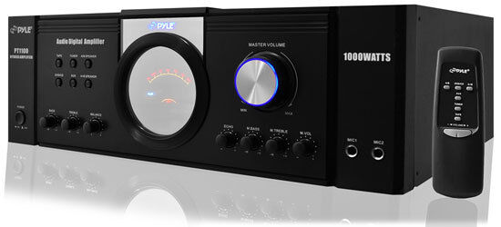 Pyle 1000 Watt Premium Home Audio Power Amplifier - Home The