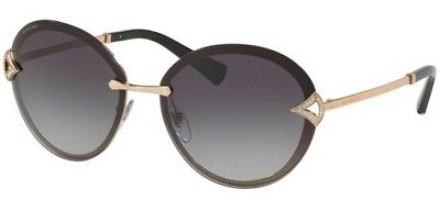 Bvlgari DIVAS' DREAM BV 6101B rose gold/grey shaded (2014/8G) Sunglasses