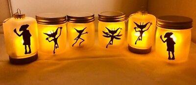 Light Up Jar (Light Up Fairy Jar. Harry Potter Decoration. Dobby, Cornish)