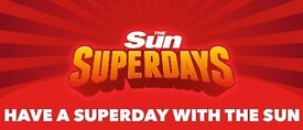 The Sun Superdays - Alton Towers Tickets Swap: Friday 26/05/17