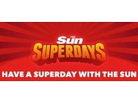 The Sun Superdays - Alton Towers Tickets Swap: Friday 26/05/17