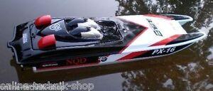 RC Rennboot Speedboot Katamaran 2x 390er Motor 80 cm Fernsteuerung