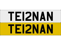 TE12NAN TIERNAN One off Cherished Personalised Number Plate AUDI GOLF MERCEDES LEXUS PORSCHE