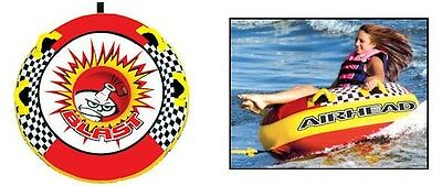 Airhead BLAST 1 Person Towable Tube AHBL-1 Could Use For Snow Sled  NEW IN BOX!