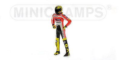 Minichamps 1/12 Valentino Rossi Ducati Figure 2011 Unveiling Figurine Motogp