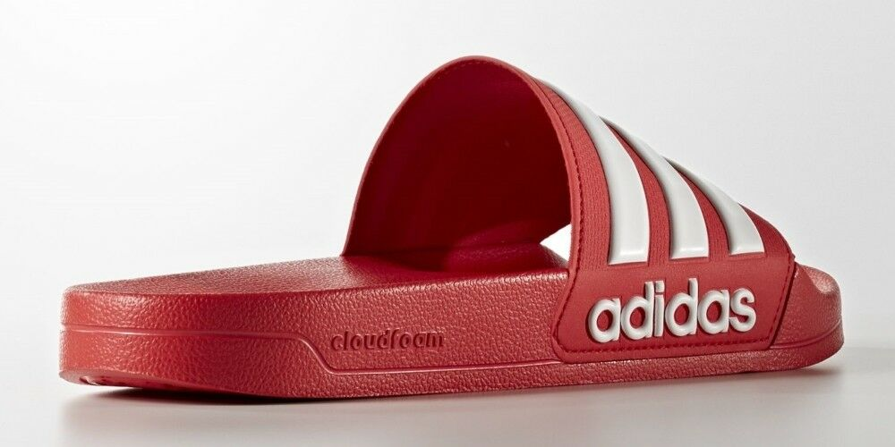 Adidas Adilette Cloudfoam rot 37-48 Badelatschen Badeschuhe Badesandale AQ1705
