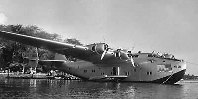 Vtg B&W WWII World War Two Military U.S. Clipper Aircraft Airplanes Photo #749