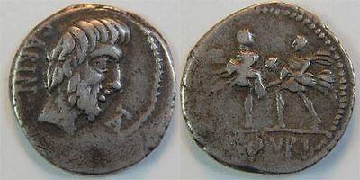 Denar 89 v.Chr Antike / Römische Republik L. Titurius L.f. Sabinus ss