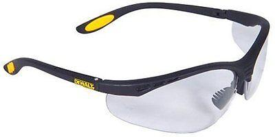 Dewalt DPG58-1C Reinforcer Clear Lens High Performance Protective Safety Glasses