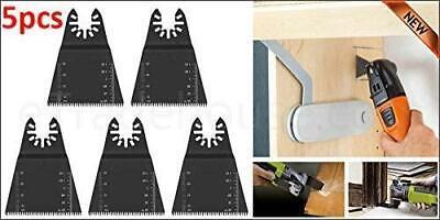5x Oscillating Saw Blades Multi Tool For Fein Multimaster Dewalt Makita 65mm