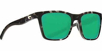 Costa Panga Two Tone Green Mirror Lens Unisex Sunglasses PAG256OGMP**Open Box**
