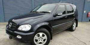 4x17inch ML350 ML270 W163 Alloy Wheel Set+Fitted Used Tyres ML320 Georges Hall Bankstown Area Preview