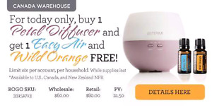 doTERRA essential oil diffuser