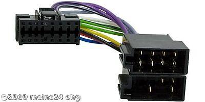 JVC Autoradio Stecker Adapter Kabel ISO Radioadapter