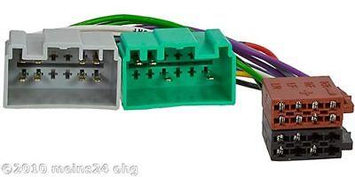 VOLVO V40 S40 S60 C70 V70 S80 XC90 Radio Adapter Kabelbaum ISO Stecker online kaufen