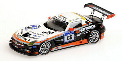 1:43 Mercedes SLS n°66 Nurburgring 2012 1/43 • MINICHAMPS 437123266