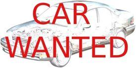 Cheap Cars / Van Wanted