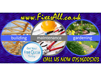 Aberdeenshire Property Maintenance, Building, Gardening, Painter, Joiner (Aberdeen, Peterhead, etc.)