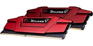 G.Skill Ripjaws V 16GB 2X8GB Dual Channel DDR4 2400MHz PC4-19200 DIMM Desktop