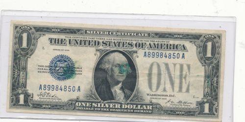 1928 Silver Certificate | eBay