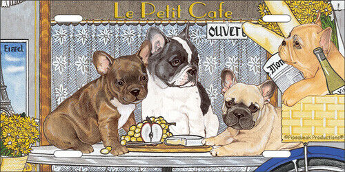 French Bulldog License Plate