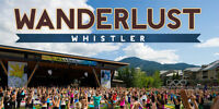 Cheap ticket to Wanderlust Whistler