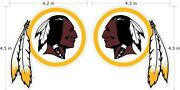 Redskins Stickers