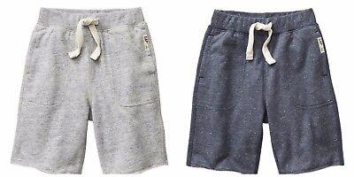 French Terry Logo Short (New Baby GAP French Terry boys Shorts Stonewash Blue Gray Logo 12-18M 18-24M   )
