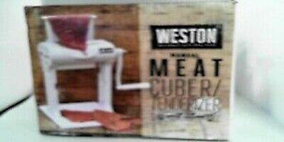 Weston Manual Meat Cubertenderizer Model 07-3101-w-a Used
