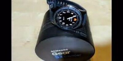 Samsung Galaxy Gear S3 bourn 46mm Stainless Steel Case Dusky Gray Sport...