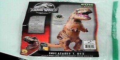 Rubie's 810481 Adult Unisex Jurassic World Inflatable T-Rex Costume 1 Size USED