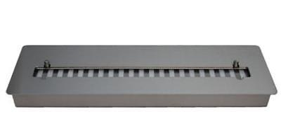 Adjustable Firebox 60 cm Bio Ethanol Burner 4,5L Stainless Steel for Fireplace