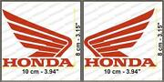 Honda Wing Decal