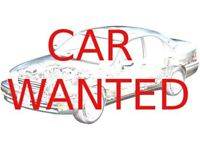 car wanted anything considered CASH WAITING