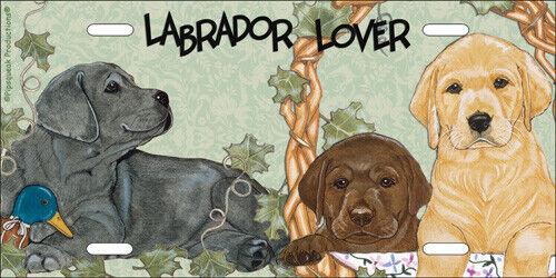 Labrador License Plate
