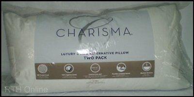 Charisma King Luxury Down Alternative Pillows, 2 Piece