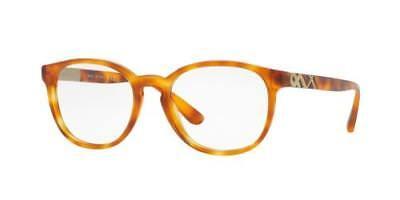 NEW AUTHENTIC BURBERRY B2241 3054 Light Havana Women's Eyeglasses 52mm ITALY