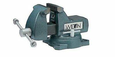 Wilton 21300 Mechanics Bench Vise 744 4 Jaw Width 4-12 Jaw Swivel Base