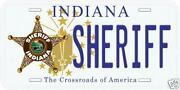 Sheriff License Plate