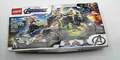 LEGO 76142 Marvel Super Heroes Avengers Speeder Bike Attack Open Distressed Box