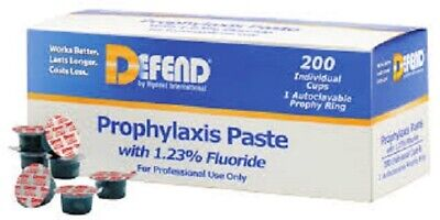 Prophy Paste Bubble Gum Fine With Fluoride - Box Of 200 - Defend