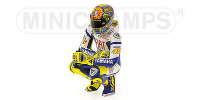 Valentino Rossi Pilota Riding Figure 100 GP Wins Assen 2009 World Champion 1:12