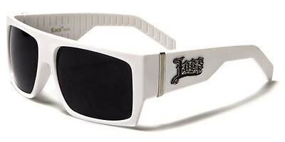 LOCS Sunglasses Gangster Style Flat Top Rectangle Sport Baseball Running For (Top Sunglasses For Running)