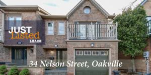 Short term lease / furnished 3 bdrm Oakville executive home