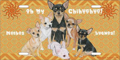 Chihuahua License Plate